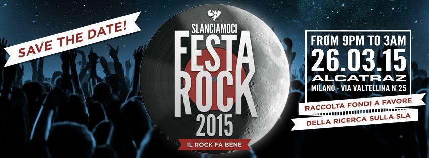 Slanciamoci, Festa Rock 2015